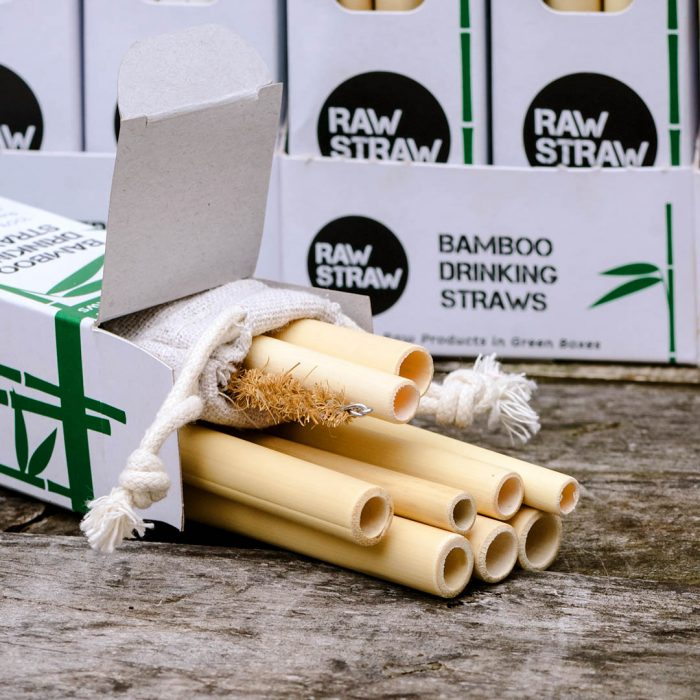 Raw Straw Bamboo drinking straws