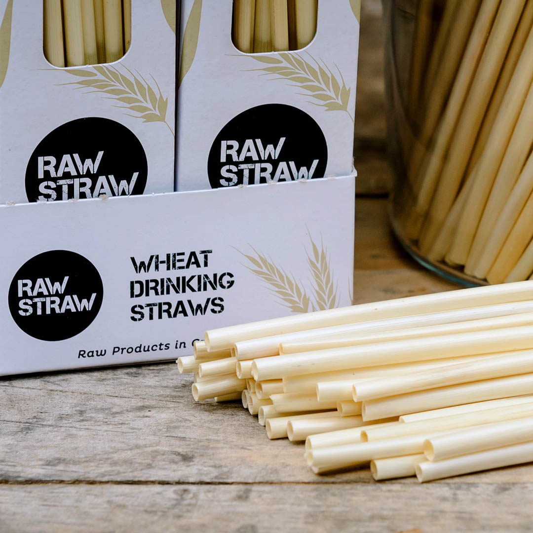 Raw Straw Wheat drinking straws