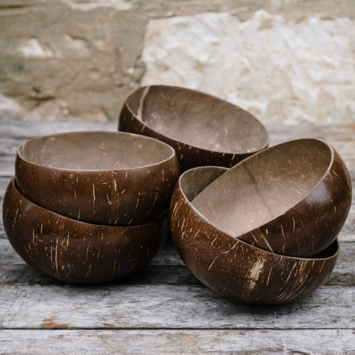Hand Crafted Coconut Bowls